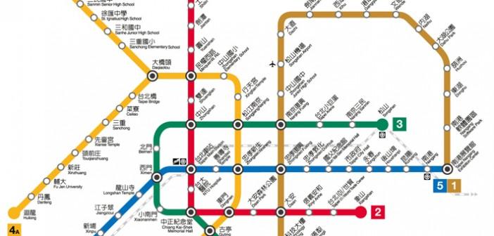 捷運路線圖